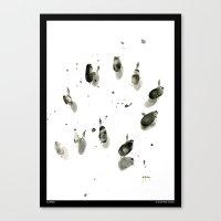 Au Milieu Canvas Print