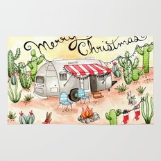 Airstream Christmas Rug