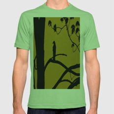 Golden Mens Fitted Tee Grass SMALL