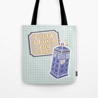 Think Inside The Box Tote Bag