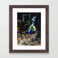 Strutting His Stuff Framed Art Print