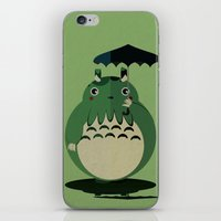 my neighbor cthulu iPhone & iPod Skin