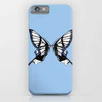 iPhone & iPod Case featuring Mirror Butterfly by Lauren Peckham