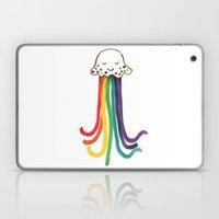 Rainbow Jellyfish Laptop & iPad Skin