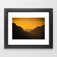 Grand Canyon Mystique Framed Art Print