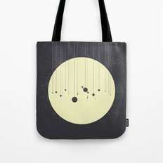 Solar System (you are here) Strings Tote Bag