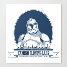 Kamino Cloning Labs Canvas Print