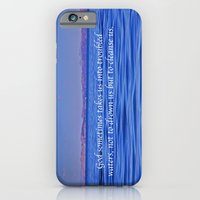Troubled Waters Quote  iPhone 6 Slim Case