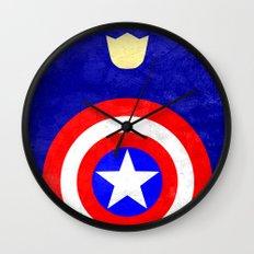 Captain America: Avengers Movie Variant Wall Clock