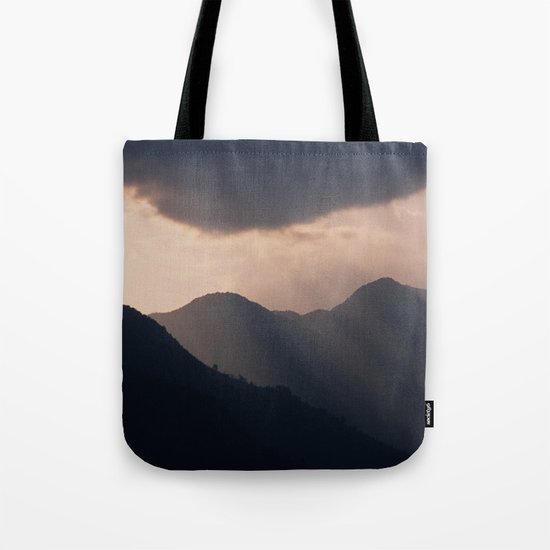 let there be night Tote Bag