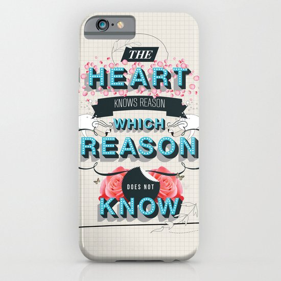 The Reason iPhone & iPod Case
