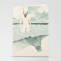 at sea Stationery Cards