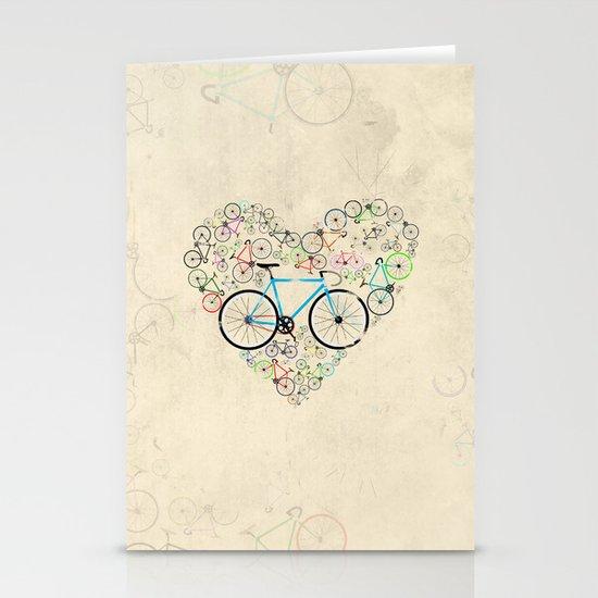 I Love My Bike Stationery Card