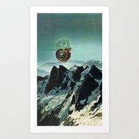 (.) Art Print