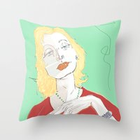 Clarice Lispector Throw Pillow