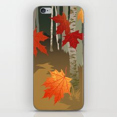 birches iPhone & iPod Skin