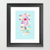 For Japan With Love 4 Framed Art Print