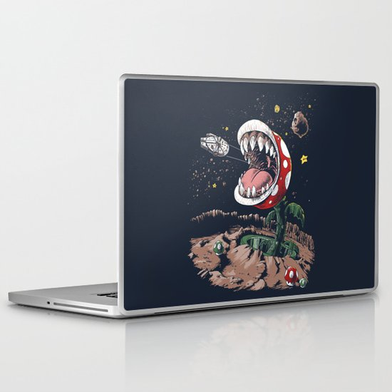 The Plumber Strikes Back Laptop & iPad Skin