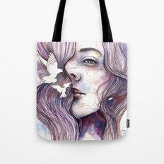 Dreams of freedom, watercolor artwork Tote Bag