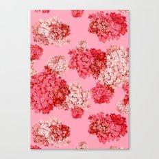 hydrangea (doubled) Canvas Print