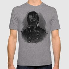 BDSM XII Mens Fitted Tee Athletic Grey SMALL