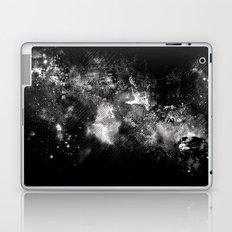 I'll wait for you black white version Laptop & iPad Skin