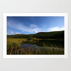 Hatcher's Hike (Alaska Landscape) Art Print