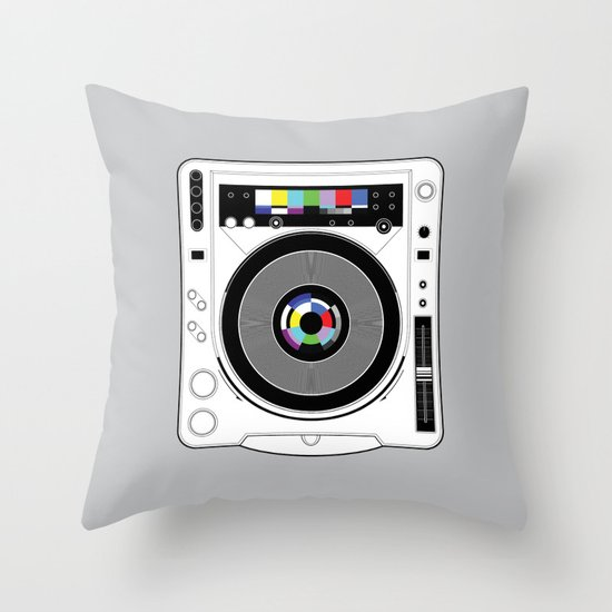 1 kHz #12 Throw Pillow