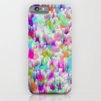 iPhone & iPod Case featuring Neon Rain by Amy Sia