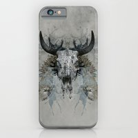 iPhone & iPod Case featuring Something is squeezing my skull! by gwenola de muralt
