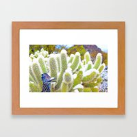 Frosted Acme Desert Delights from Cave Creek, Arizona Framed Art Print