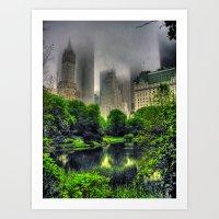 New York Central Park  Art Print