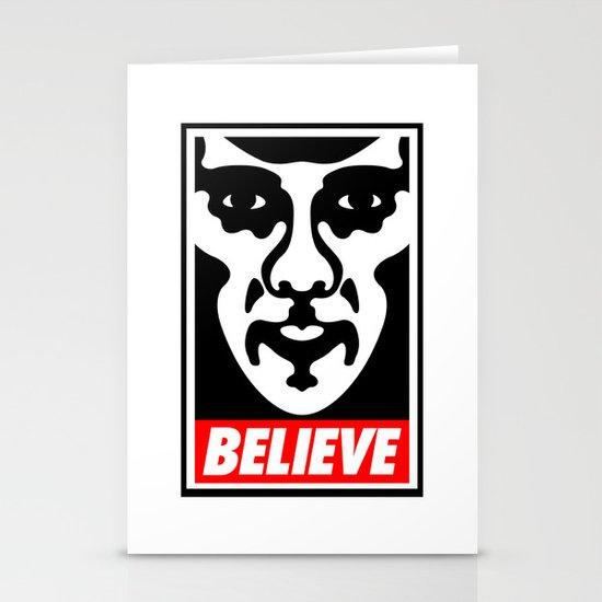 Believe - Sherlock Stationery Card
