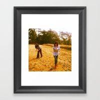 Capturing Wishes Framed Art Print