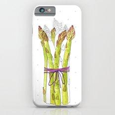asparagus and mushrooms iPhone 6 Slim Case