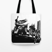 Somebody Somewhere Tote Bag