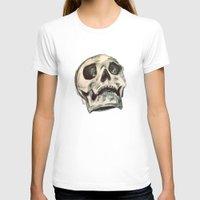 skulls T-shirts featuring Skulls by Lauren Draghetti