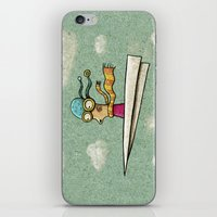 Paperplane2 iPhone & iPod Skin