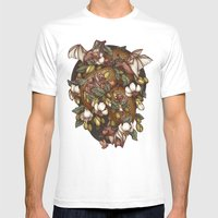Botanica Mens Fitted Tee White SMALL