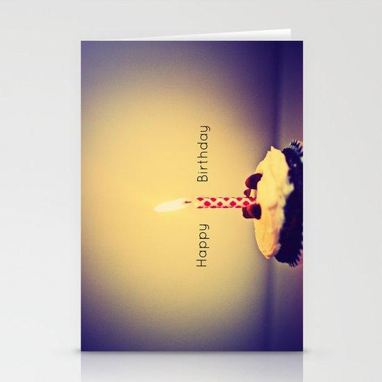 Happy Birthday Stationery Card