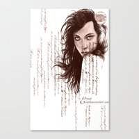 French Paper Canvas Print