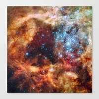Star Clusters Canvas Print