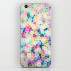 Rainbow Bokeh iPhone & iPod Skin