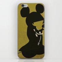 King Mickey iPhone & iPod Skin