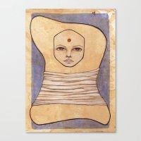 Secrets Of Osiris I Canvas Print