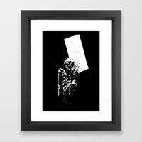 Dark Room #1 Framed Art Print