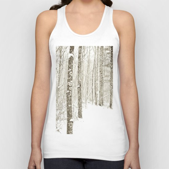Wintry Mix Unisex Tank Top