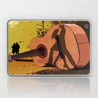 Memories Of A Guitar Laptop & iPad Skin