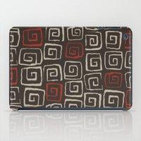 Aztec pattern iPad Case