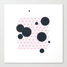 #224 Deep space cartography – Geometry Daily Canvas Print